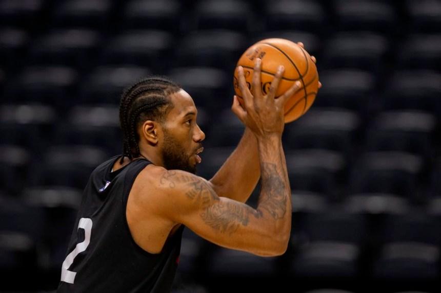 Les Raptors s'abreuvent de l'attitude de leur joueur vedette Kawhi Leonard