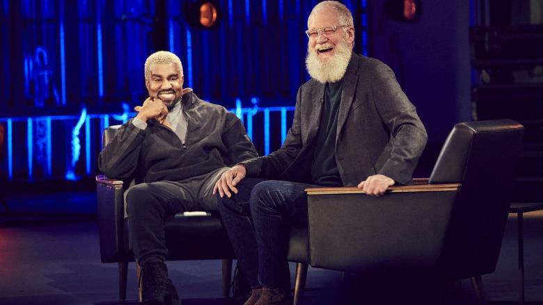 Kanye West et David Letterman