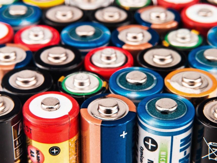 Une solution pour recycler vos piles et batteries