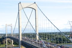 Trois blessés dont un gravement après un accident sur le pont Pierre-Laporte