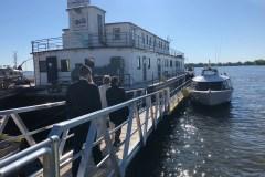 La navette fluviale inaugurée à PAT