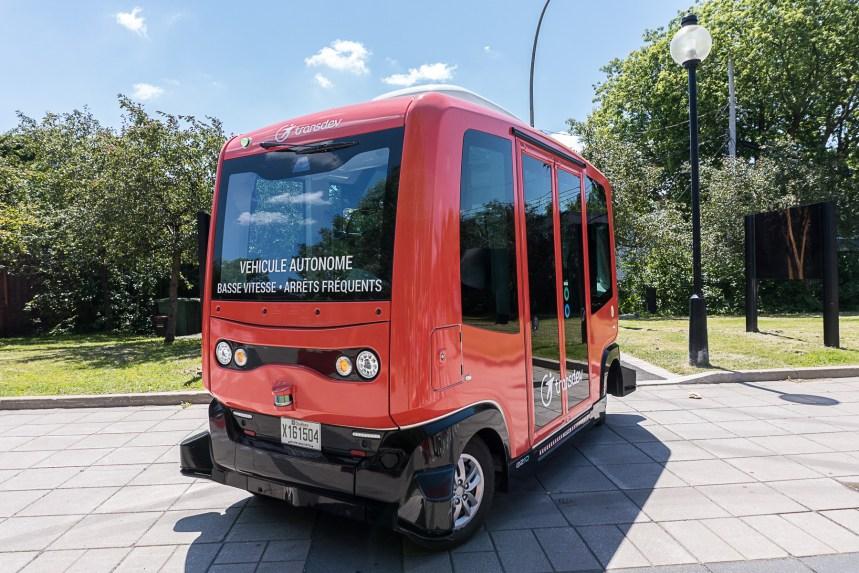 Un projet de navette autonome sur rue à Montréal pourrait faire des petits