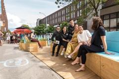 Un premier «placottoir» inauguré dans Ville-Marie