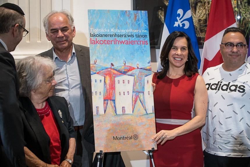 La Charte montréalaise des droits et des responsabilités traduite en langue mohawk