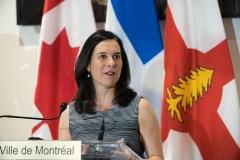 Élections fédérales: Valérie Plante veut des promesses en mobilité et en environnement