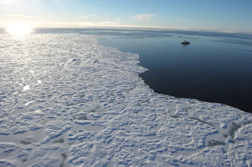 Record absolu de chaleur: plus de 20 degrés près du Pôle Nord