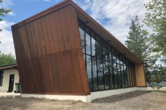 Un bâtiment neuf pour le parc Clémentine-De la Rousselière