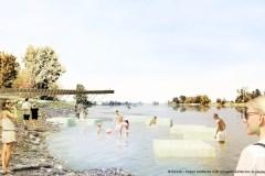 Nouvelle phase d'aménagement à la plage de l'Est