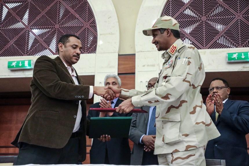 Soudan: un accord de partage du pouvoir signé
