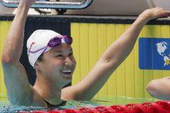 Mondiaux aquatiques: Margaret MacNeil du Canada gagne l'or au 100-mètres papillon
