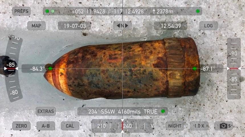 Un vieil explosif découvert par des alpinistes dans le parc national de Jasper