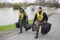 Inondations: Québec retire 30 municipalités de sa «Zone d'intervention spéciale»