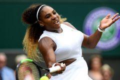 Serena Williams s'assure à l'arraché une 12e demi-finale à Wimbledon