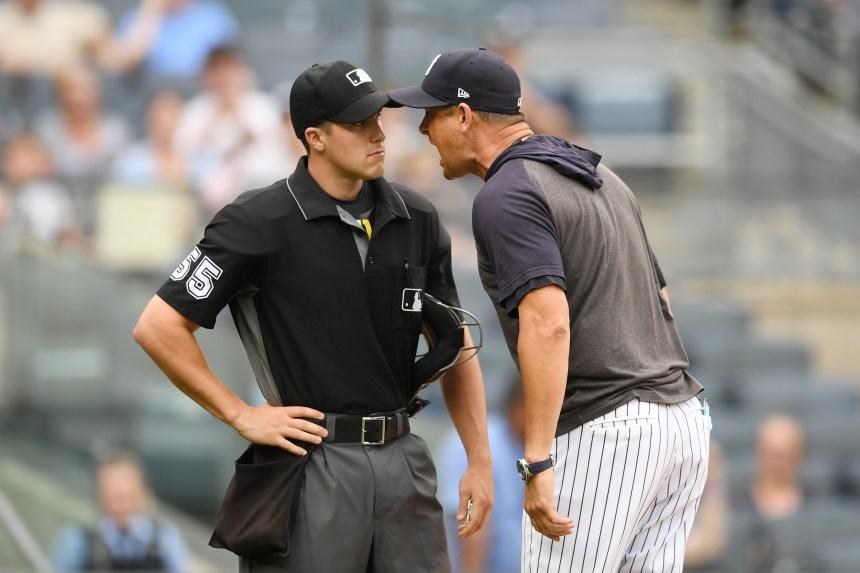 Le gérant des Yankees Aaron Boone est suspendu pour une rencontre