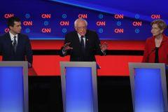 Warren et Sanders sous le feu des démocrates modérés lors du débat
