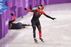 Charle Cournoyer annonce sa retraite du patinage de vitesse courte piste