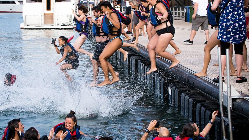 Grand Splash bain portuaire