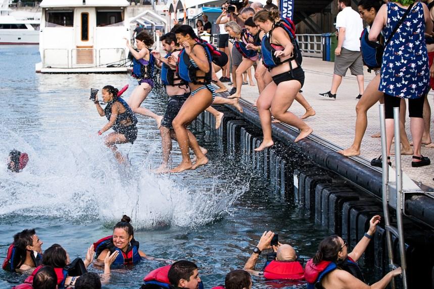 Grand Splash: le projet de bain portuaire reçoit l'appui de Québec
