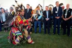 Les premiers ministres des provinces rencontrent les chefs autochtones