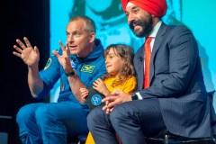 David Saint-Jacques accueilli en héros à l'Agence spatiale canadienne