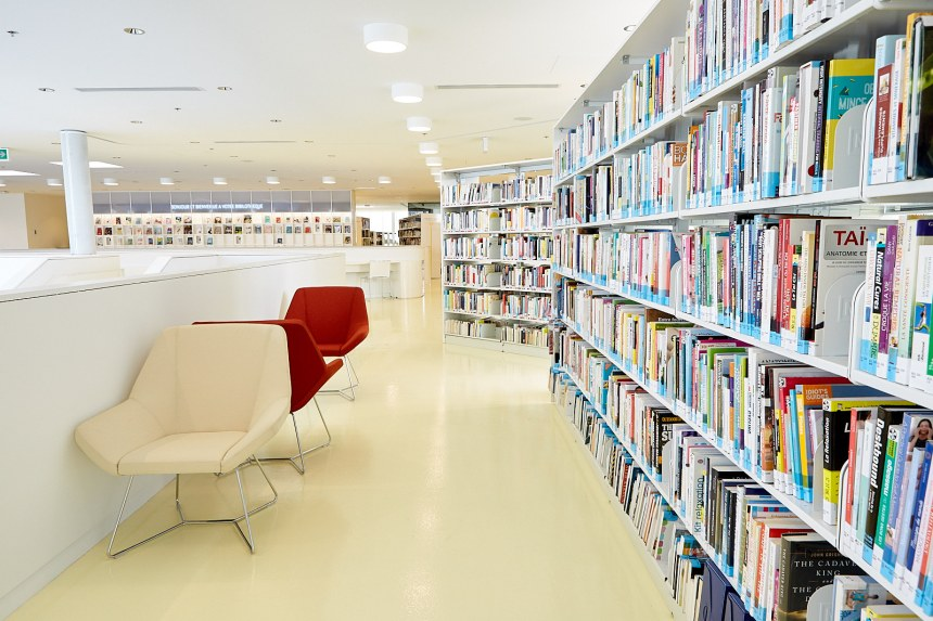 Une nouvelle bibliothèque à Pierrefonds