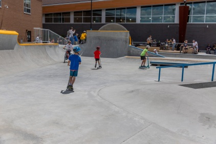 Nouveaux skateparks dans l'Ouest-de-l'Île