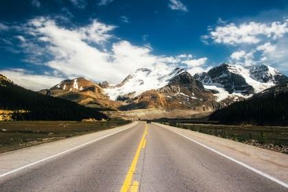 Les routes de l'Alberta