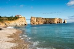 La Gaspésie: mer, montagnes, rivières
