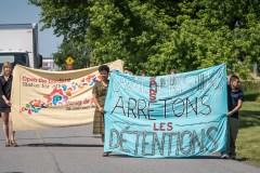 Immigration: des groupes dénoncent une «prison» pour migrants à Laval