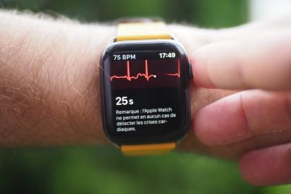 L'électrocardiogramme de l'Apple Watch 4 change la donne