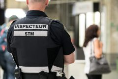 STM: les inspecteurs en pantalon d'armée pour protester contre les horaires