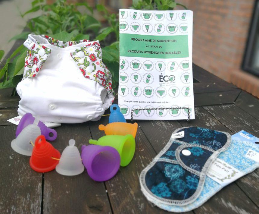 Produits d'hygiène durables: un succès dans l'arrondissement