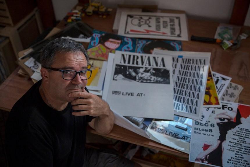 Après Seattle ou Bangkok, l'affichiste de Nirvana trouve l'inspiration en Serbie