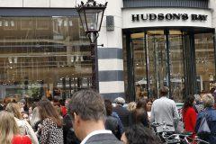 La Baie d'Hudson ferme ses magasins aux Pays-Bas