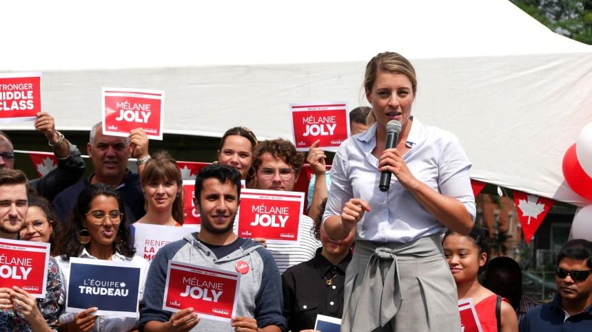 Mélanie Joly lance sa campagne