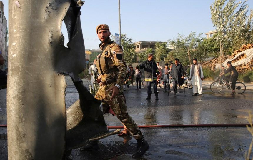 Afghanistan: un attentat des talibans fait de nombreuses victimes à Kaboul