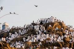 La Mecque: orages et ferveur sur le mont Arafat pour le hajj
