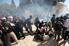 Aïd el-Adha: heurts sur l'esplanade des Mosquées à Jérusalem