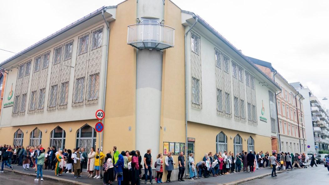 Attaque d'une mosquée en Norvège