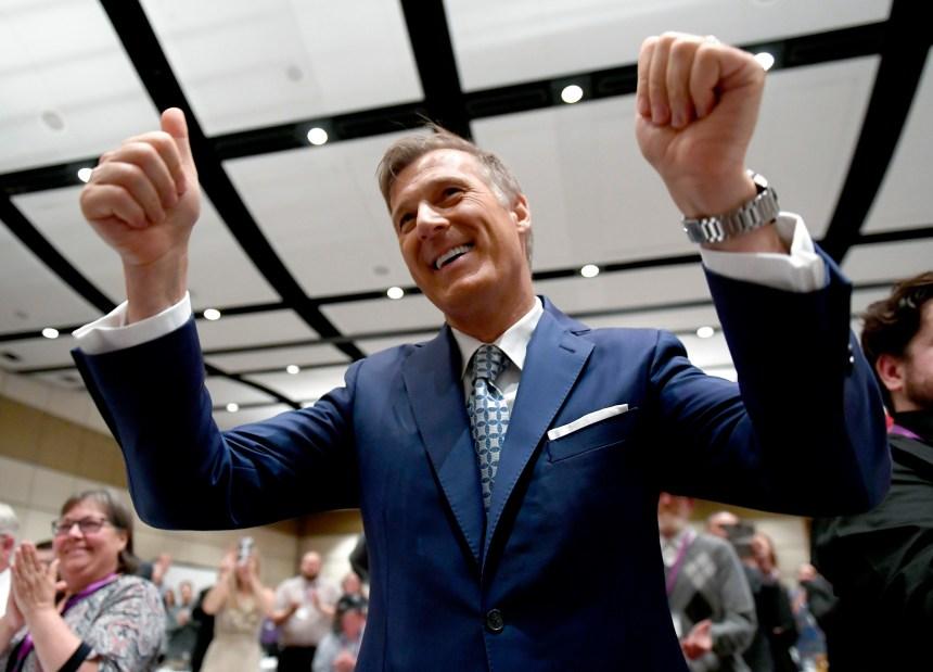 L'interprétation d'Élections Canada est «absurde», estime Maxime Bernier