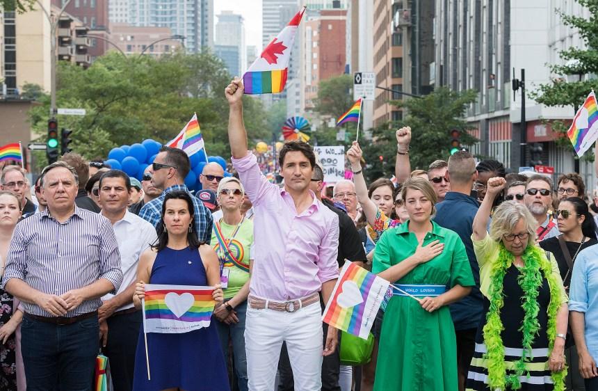 Dame nature au rendez-vous pour le 36e défilé de la Fierté à Montréal