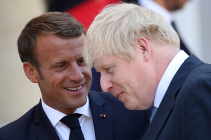 Brexit: rencontre conciliante entre Macron et Johnson