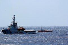 Situation «explosive» à bord du navire Open Arms bloqué au large de Lampedusa