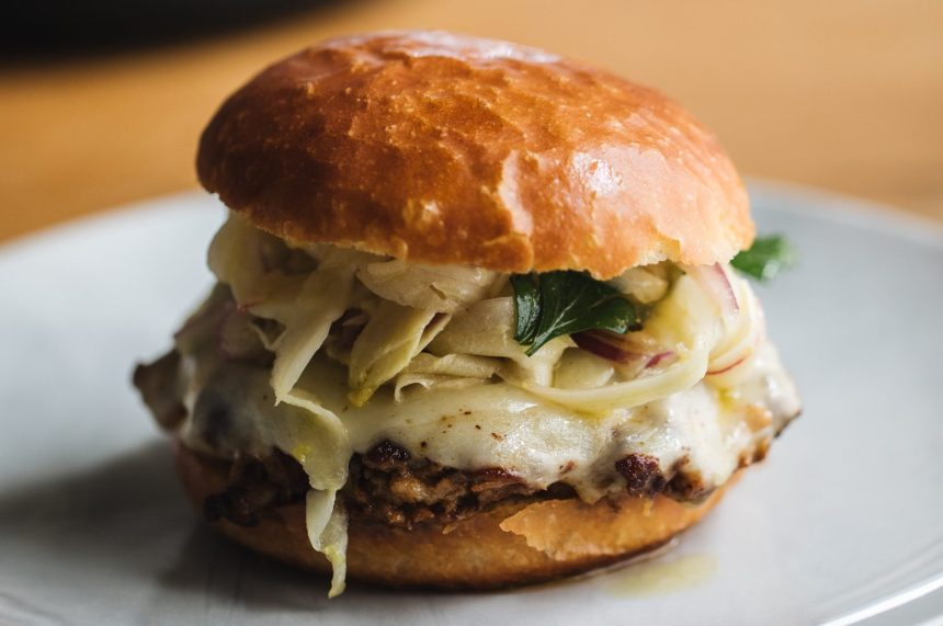 Burgers divins à l'italienne