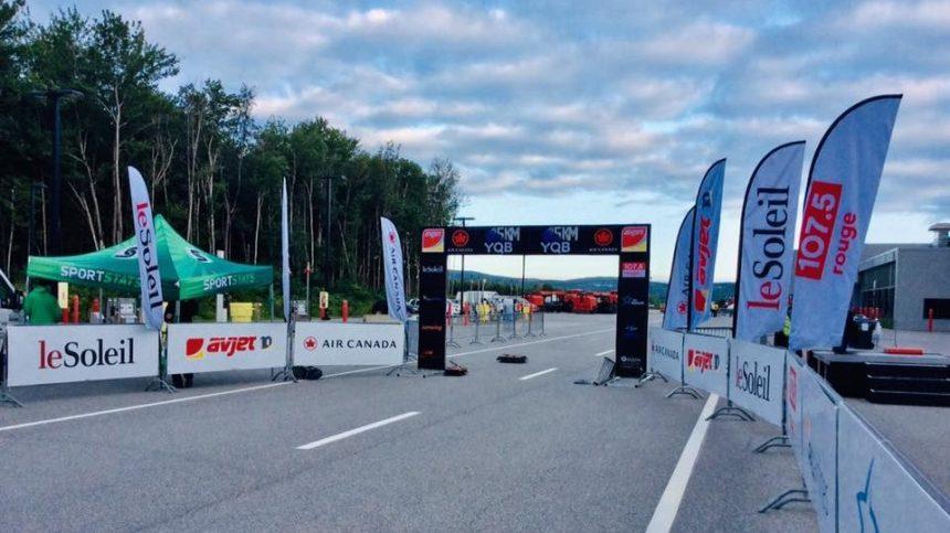 Aéroport de Québec: 1200 coureurs sur la piste d'atterrissage ce matin