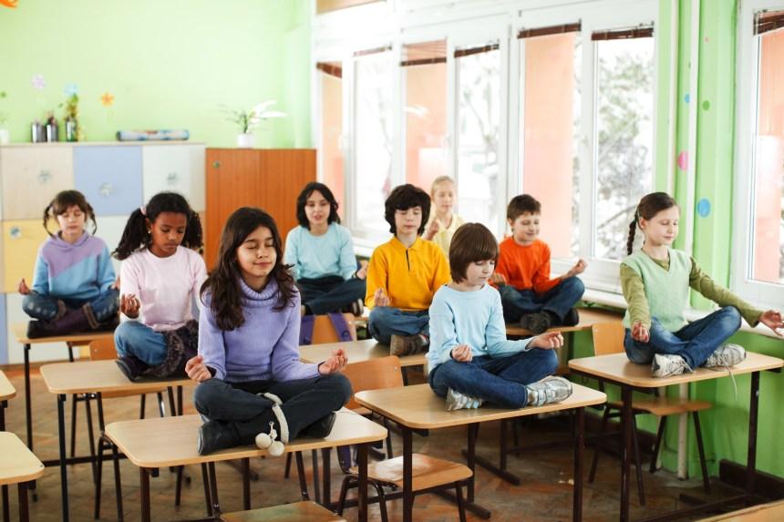 Quand le yoga s'invite à l'école