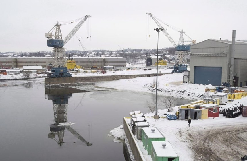 Un chantier naval ontarien se plaint de favoritisme envers la Davie