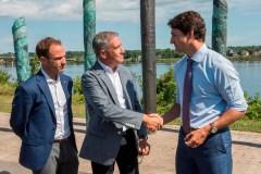 Le fédéral octroie 11,4 M $ pour protéger Fredericton des inondations