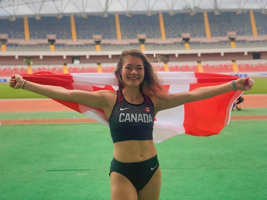 Catherine Léger a les Jeux olympiques de Tokyo dans sa ligne de mire