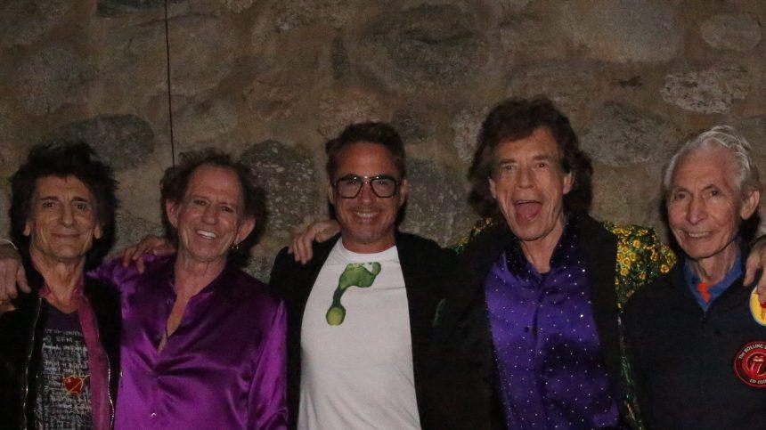 Une pierre de la planète Mars nommée Rolling Stones